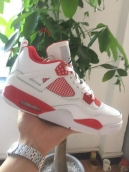 AAA Air Jordan 4 White Red 160