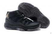 AAA Air Jordan 11 Black Golden
