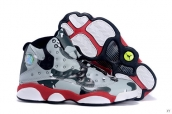 AAA Air Jordan 13 Women Camo Grey Black Red White