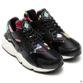 Nike Air Huarache 1 Women Flower Black