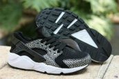Nike Air Huarache 1 Snake Black White
