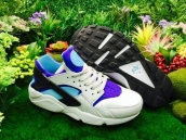Nike Air Huarache 1 White Purple Black Blue