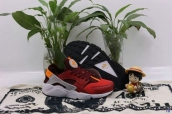 Nike Air Huarache 1 Wine Red Black White