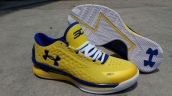 Ua Curry One Low Yellow Blue White