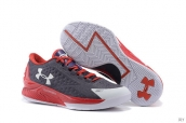 Ua Curry One Low Purple Grey Red White