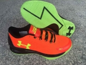 Ua Curry One Low Red Black Green
