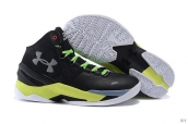 Ua Curry II Black Silvery Yellow Green