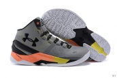 Ua Curry II Grey Black Orange