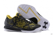 Ua Curry One Low Black Yellow White