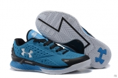 Ua Curry One Low Blue Black White