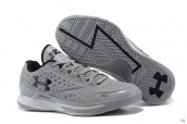 Ua Curry One Low Grey Black