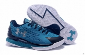 Ua Curry One Low Women Blue Black White