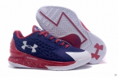 Ua Curry One Low Women Purple Red White