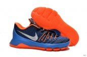 Nike Zoom KD 8 EP Black Blue Orange Silvery