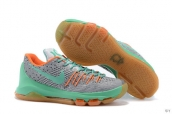 Nike Zoom KD 8 EP Grey Green Orange