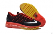 Air Max 2016 Black Red White Yellow