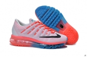 Air Max 2016 Women White Red Blue Black