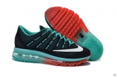 Air Max 2016 Women Black Green Red White