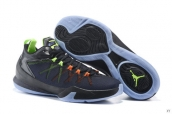 Jordan CP3 VII AE X Black Blue Green