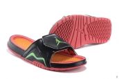 Jordan Hydro VII Retro Black Orange Green