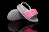 Jordan Slipper Kids Grey Pink