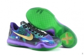 Nike Kobe X Low Purple Green Golden 150