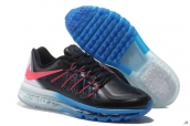 AAA Air Max 2015 Leather Black Blue White Red