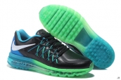 AAA Air Max 2015 Leather Black Green Blue White