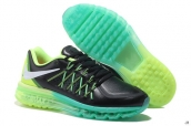 AAA Air Max 2015 Leather Black Green White