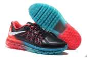 AAA Air Max 2015 Leather Black Jade Red White