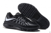 AAA Air Max 2015 Leather Black White
