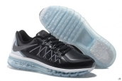 AAA Air Max 2015 Leather Black White Grey