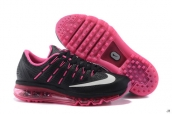 AAA Air Max 2016 Women Leather Black Pink White