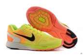 Nike Lunarglide 7 Yellow Orange Black