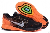 Nike Lunarglide 7 Black Orange White