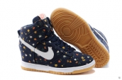 Nike Dunk SB SKY High Women Navy Blue White