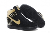 Nike Dunk SB SKY High Women Black Golden