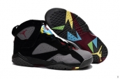 Air Jordan 7 Retro Grey Black Red Yellow