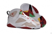 Air Jordan 7 Retro White Beige Red
