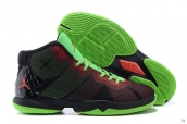 Jordan Superfly 4x Black Green Red