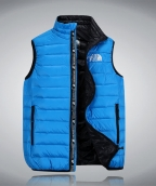 2015 The North Face Mens Vest Blue