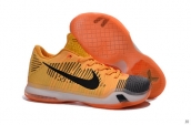 Nike Kobe X Low Elite Yellow Orange Black