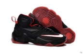 Nike Lebron 13 Kids Black Red
