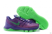 Nike Zoom KD 8 Purple Green