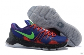 Nike Zoom KD 8 Purple Red Green Black