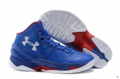 Ua Curry II Blue White Red