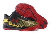 Ua Curry II Low KPU Black Golden Red