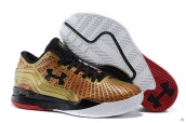Ua Curry II Low KPU Golden Red Black White