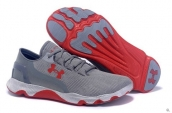Under Armour Curry Running Shoes Grey Red