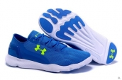 Under Armour Curry Running Shoes Blue White Green